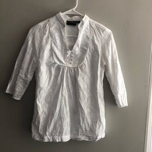 Webster of Miami for Target White Tunic Top XS